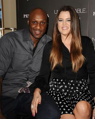 Lamar and Khloé.