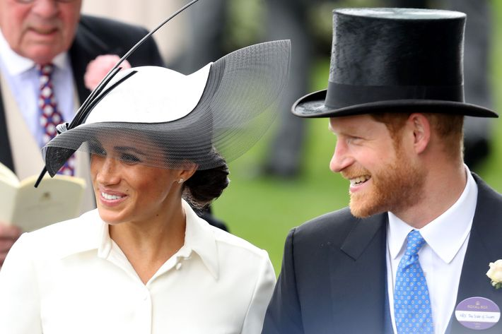 Meghan Markle and Prince Harry at Royal Ascot.