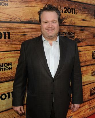 Actor Eric Stonestreet attends a party hosted by Twentieth Century Fox Television Distribution at the Fox Lot on May 26, 2011 in Century City, California.