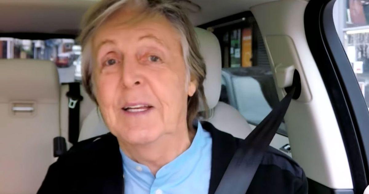Watch James Corden And Paul Mccartney Carpool Karaoke