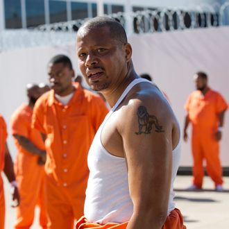 EMPIRE: Terrence Howard as Lucious Lyon in the ÒThe Devils Are HereÓ Season Two premiere episode of EMPIRE airing Wednesday, Sept. 23 (9:00-10:00 PM ET/PT) on FOX. ©2015 Fox Broadcasting Co. Cr: Chuck Hodes/FOX.