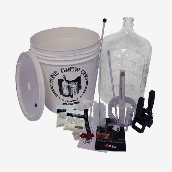 Home Brew Ohio RL-WKZ2-0IJS Gold Complete Beer Equipment Kit