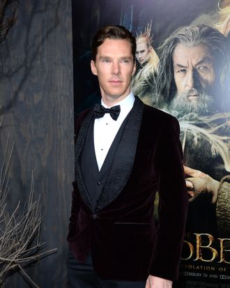 HOLLYWOOD, CA - DECEMBER 02: Actor Benedict Cumberbatch attends the premiere of Warner Bros'