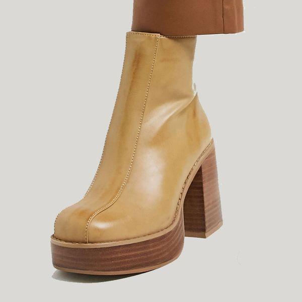 Asos Design Ragan Chunky Platform Boots