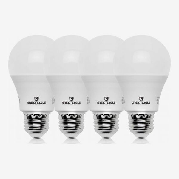 Great Eagle A19 LED Bulb, Soft White (4-Pack)