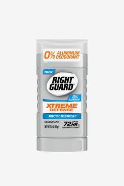 Right Guard Xtreme Defense Aluminum-Free Deodorant Invisible-Solid Stick