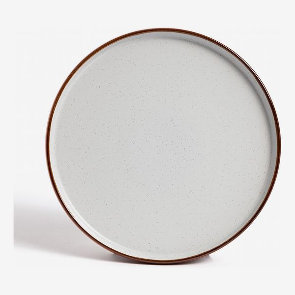 Habitat Rust Speckle Dinner Plate