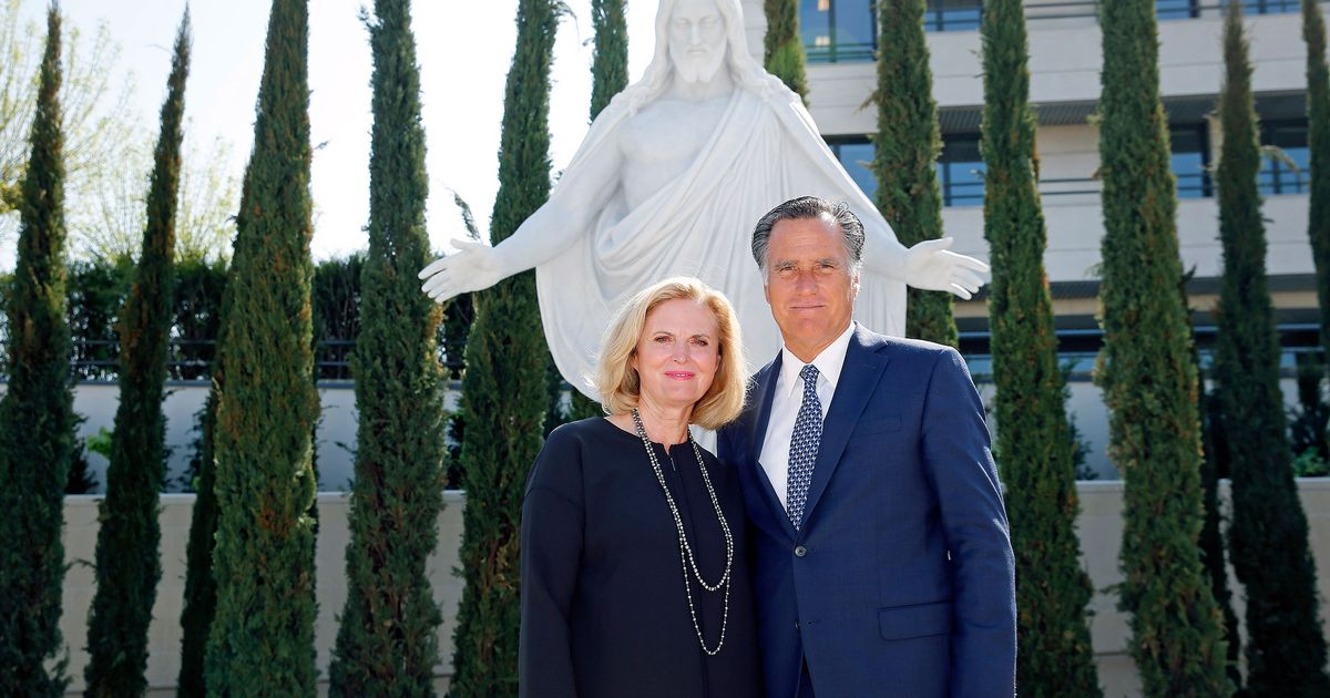 Mitt Romney Wrote in His Wife's Name for President in 2016