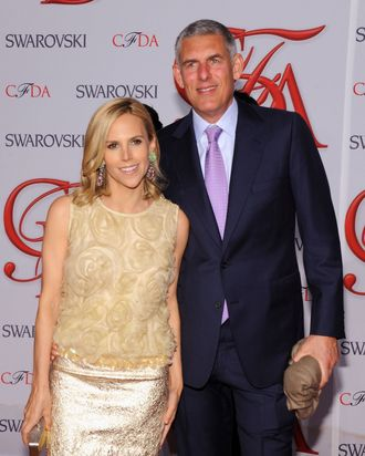Tory Burch and Lyor Cohen.