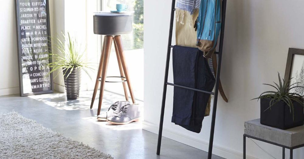 The Best Wall Ladder For Keeping Your Clothes Organized