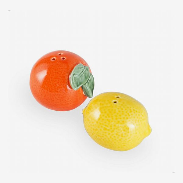 Kimdio Orange and Lemon Salt and Pepper Shakers
