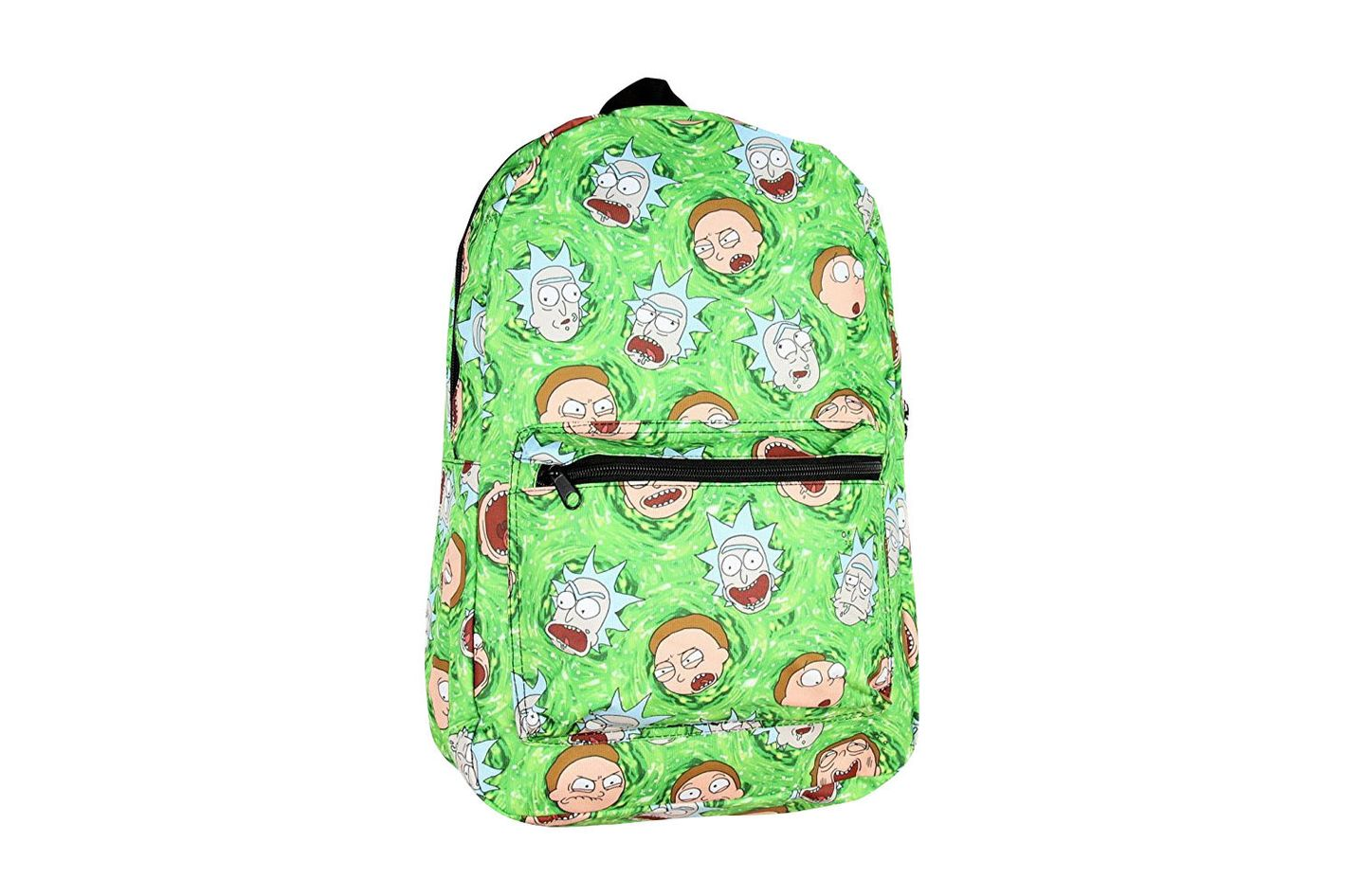 Portal Print Rick And Morty Backpack