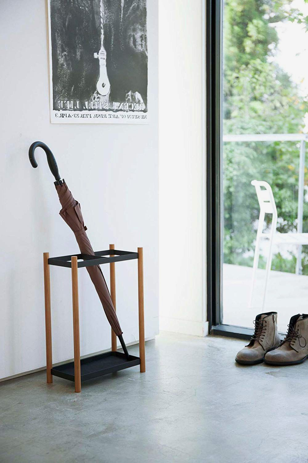 Minimalistic Open Umbrella Stand