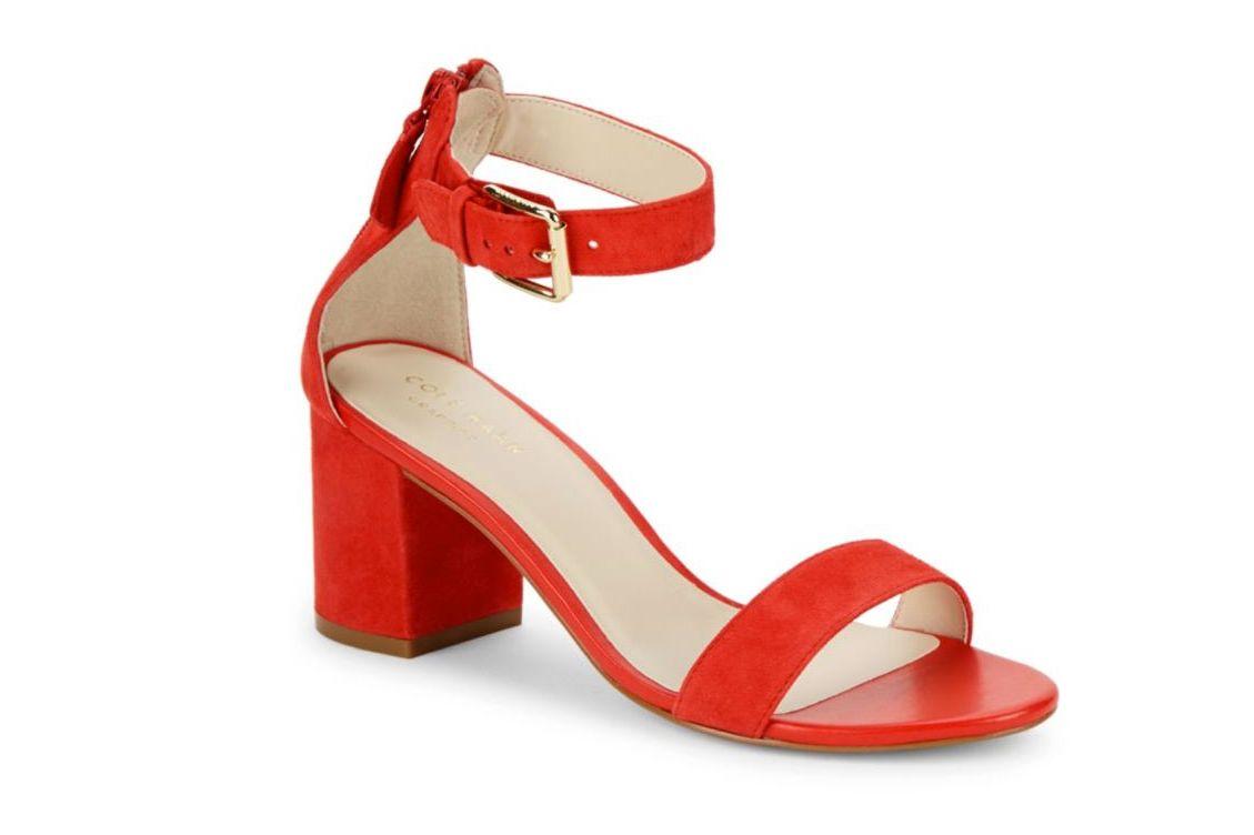 Cole Haan Clarette Suede Sandals