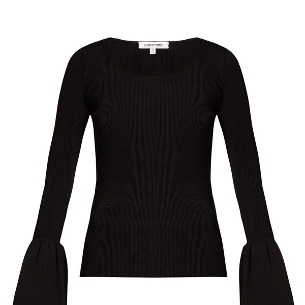 Treat Yourself: A Feminine, Bell-Sleeved Top