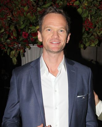 NEW YORK, NY - OCTOBER 07: Neil Patrick Harris poses at The National Theatre Gala dinner hosted by Vogue Magazine for