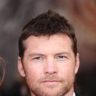 Sam Worthington attends the European premiere of Wrath Of The Titans at BFI IMAX on March 29, 2012 in London, England.