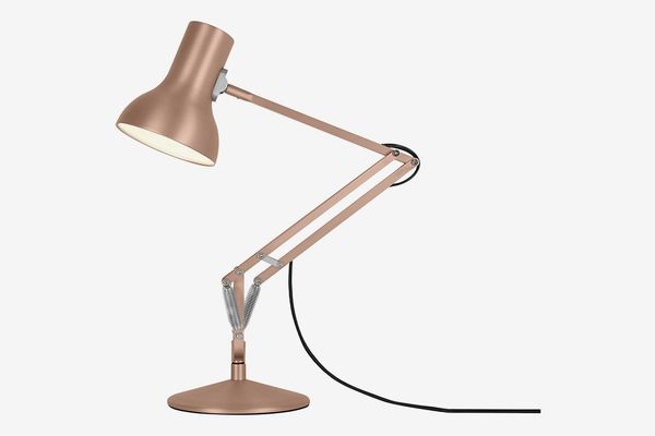 Anglepoise Type 75 Mini Metallic Desk Lamp, Copper Lustre