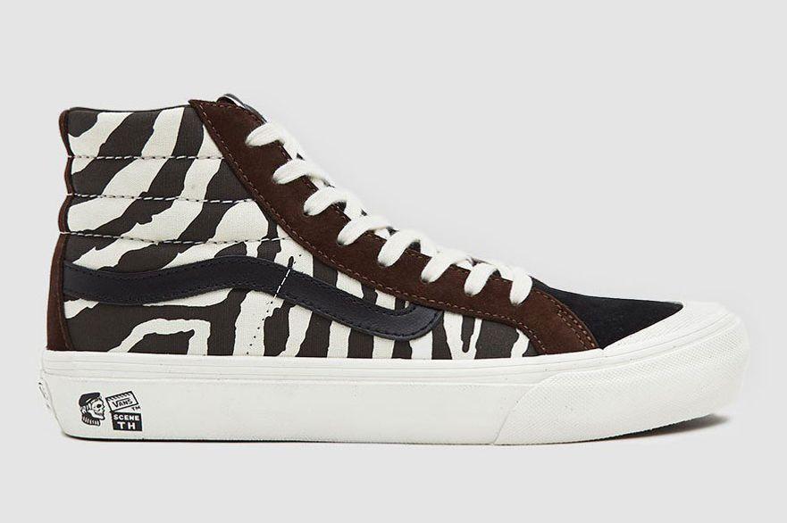 Vault by Vans TH Style 138 LX Sneaker in Zebra