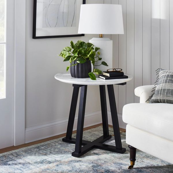 Threshold™ designed with Studio McGee Round Marble Accent Table