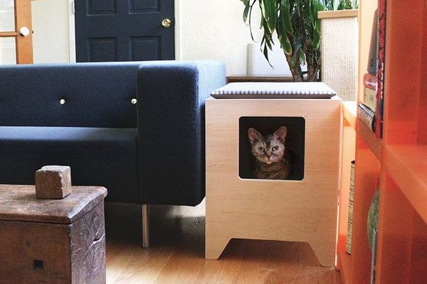 Curio Craft Modern Litter Box Enclosure