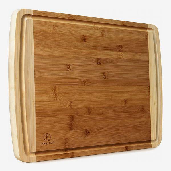 Indigo True Bamboo Cutting Board Extra Large