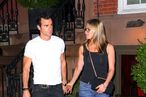 Jennifer Aniston and Justin Theroux Return to Blue Hill; Matt Damon Eats Doughnuts at STK