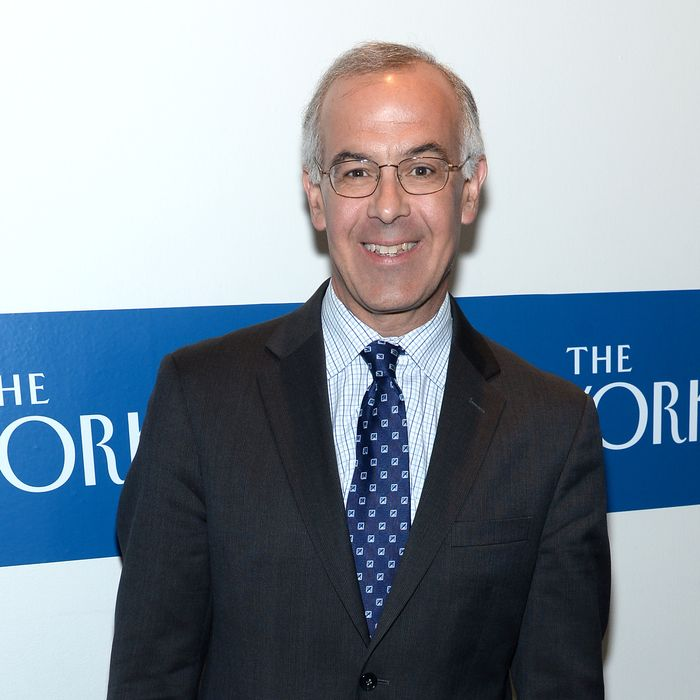 WASHINGTON, DC - MAY 02: Journalist David Brooks attends the White House Correspondents' Dinner Weekend Pre-Party hosted by The New Yorker's David Remnick at the W Hotel Washington DC on May 2, 2014 in Washington, DC. (Photo by Dimitrios Kambouris/Getty Images for The New Yorker)