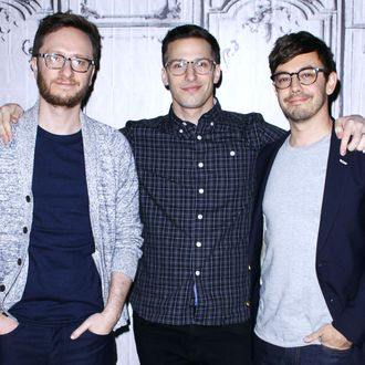 Andy Samberg, Akiva Schaffer and Jorma Taccone of The Lonely Island Discuss