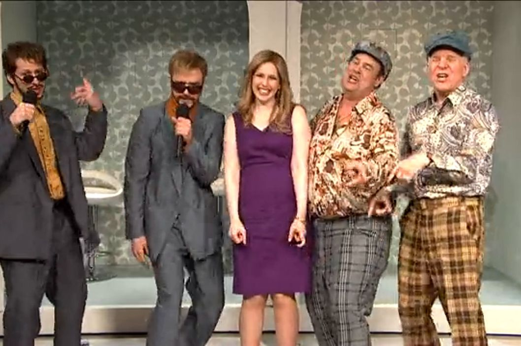 snl wild and crazy guys dating game