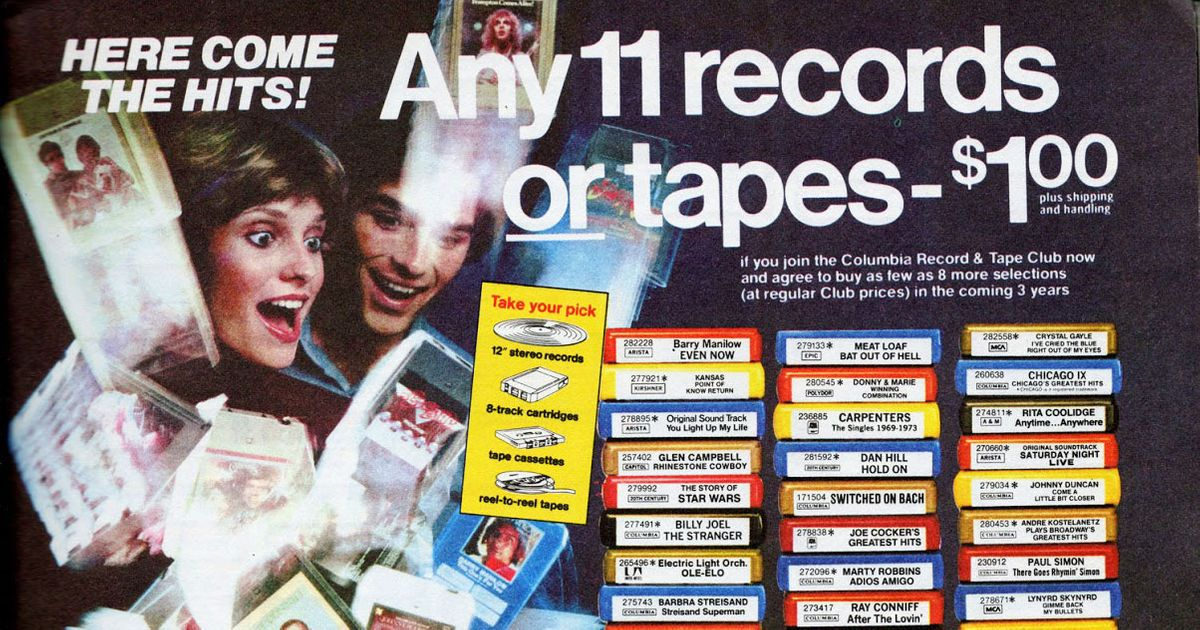 Columbia House Relaunches With Vinyl How Many Records For