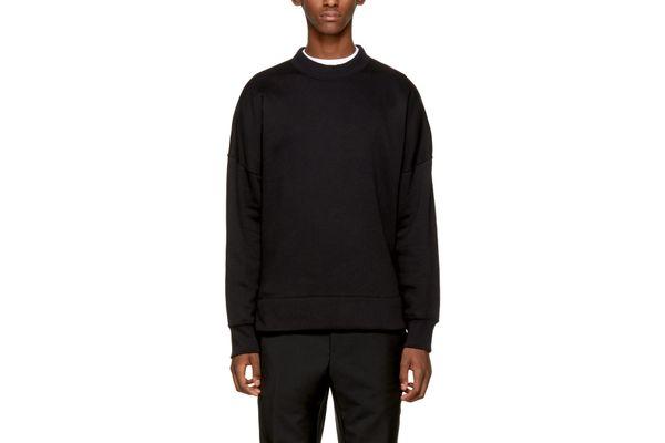 Acne Studios Black Folke Sweatshirt