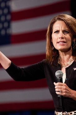CHARLESTON, SC - AUGUST 25:  Republican presidential candidate, Rep. Michelle Bachmann speaks at a town hall meeting on August 25, 2011 in Charleston, South Carolina. The event was organized by Rep. Tim Scott.  (Photo by Richard Ellis/Getty Images)