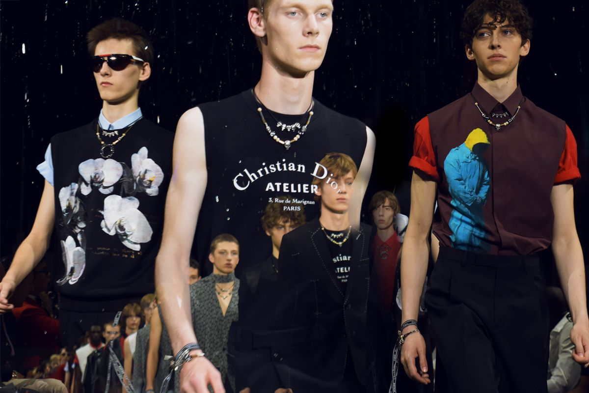 Dior Homme Brought Short Shorts and Skinny Suits to Paris Fashion Week 2bb84a1300ee