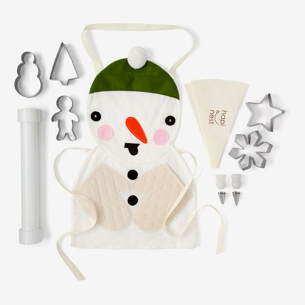 Snowman-Cookie Baking Set
