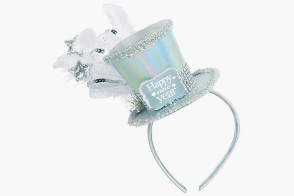 Amscan New Year's Disco Ball Drop Deluxe Headband