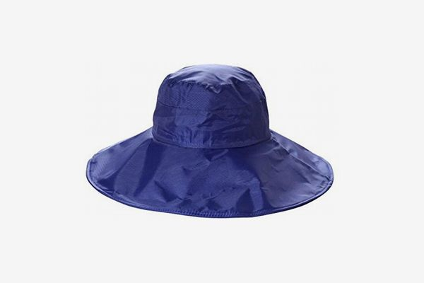 Chic Queen Wide-Brimmed Waterproof Rain Hat With UV Protection