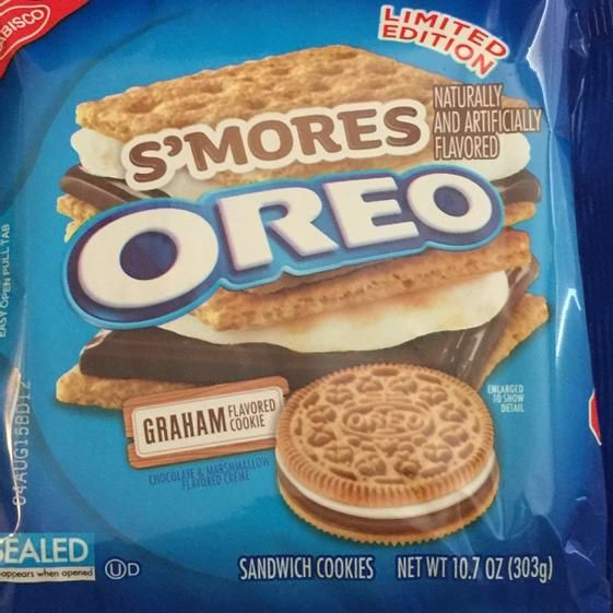 Have s'more Oreo flavors.