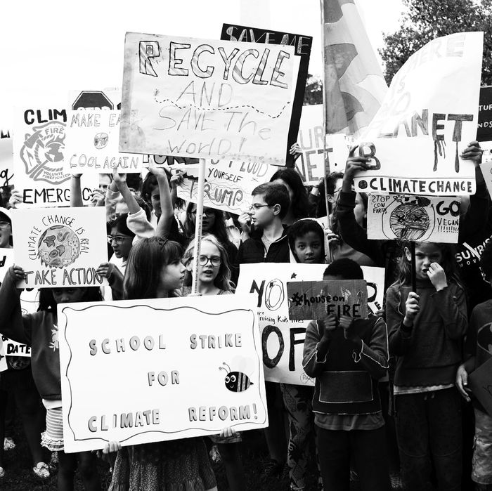 2018 Youth Climate Strike.