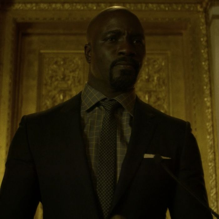 Mike Colter as Luke.