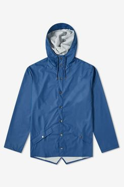 Rains Long Jacket (Klein Blue)