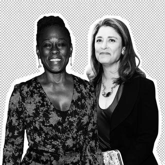 New York City First Lady Chirlane McCray and Deputy Mayor Alicia Glen.