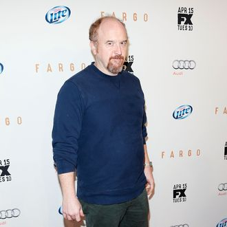 NEW YORK, NY - APRIL 09: Comedian Louis C.K. attends the FX Networks Upfront screening of