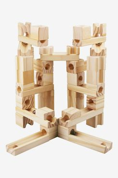 Onshine Wooden Marbles Run Block Toy