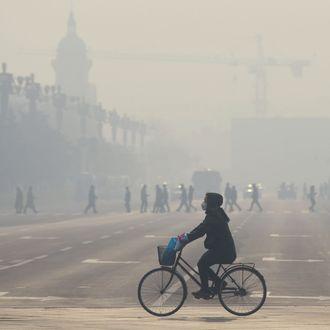 TOPSHOT-CHINA-ENVIRONMENT-POLLUTION-HEALTH