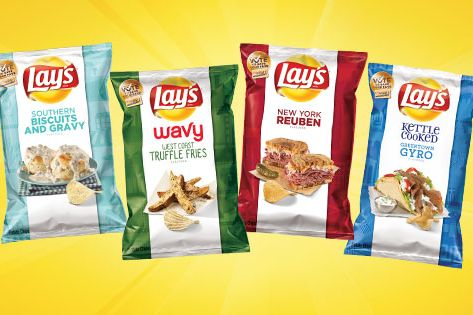Get Ready for Chips That Taste Like Gyros, Biscuits, and Truffles
