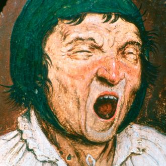 'Man Yawning', c1545-1569. From the collection of the Musees Royaux des Beaux-Arts de Belgique, Brussels, Belgium (Photo by Art Media/Print Collector/Getty Images)