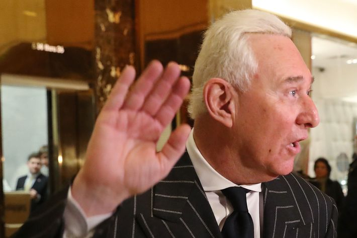 Image result for IMAGES OF ROGER STONE
