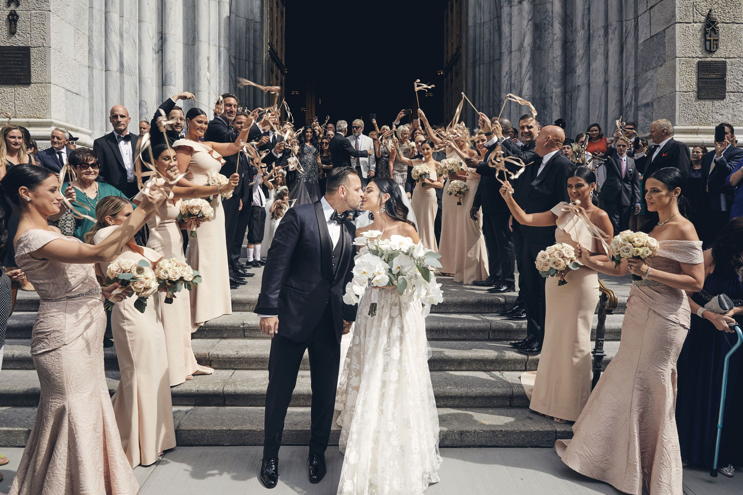 A Blowout Wedding Weekend at Iconic New York Landmarks