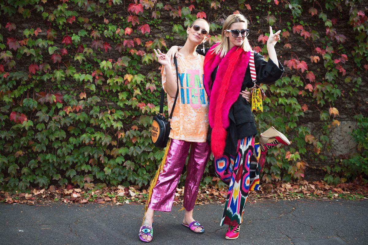 Poppy Lissiman The Best Street Style At Sydney Fashion